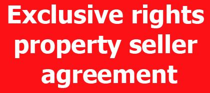 Property seller agreement