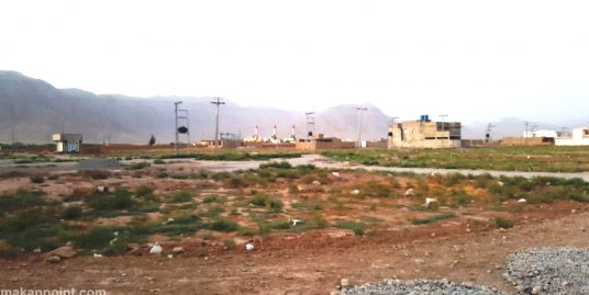 Plot for sale in garden town near airport road Quetta