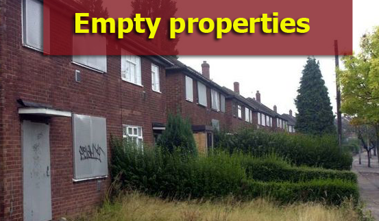 empty property