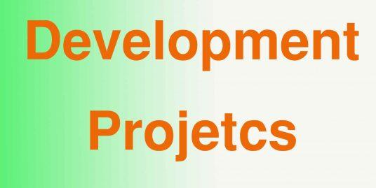 Development projects in Pakistan
