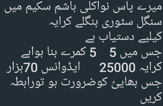House for rent in nawa killi Quetta