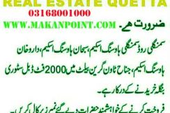 House required in Quetta