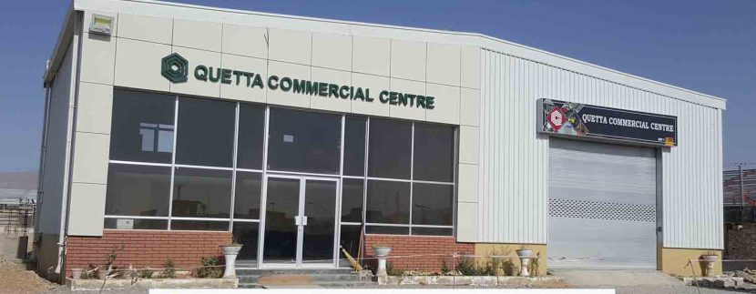 Quetta commercial centre real estate project