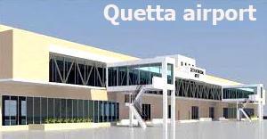 Quetta international airport terminal new extention