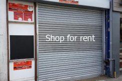 Shop for rent samungli road Quetta near benazir family park near board office near jinnah town