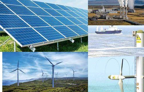 Pure renewable energies