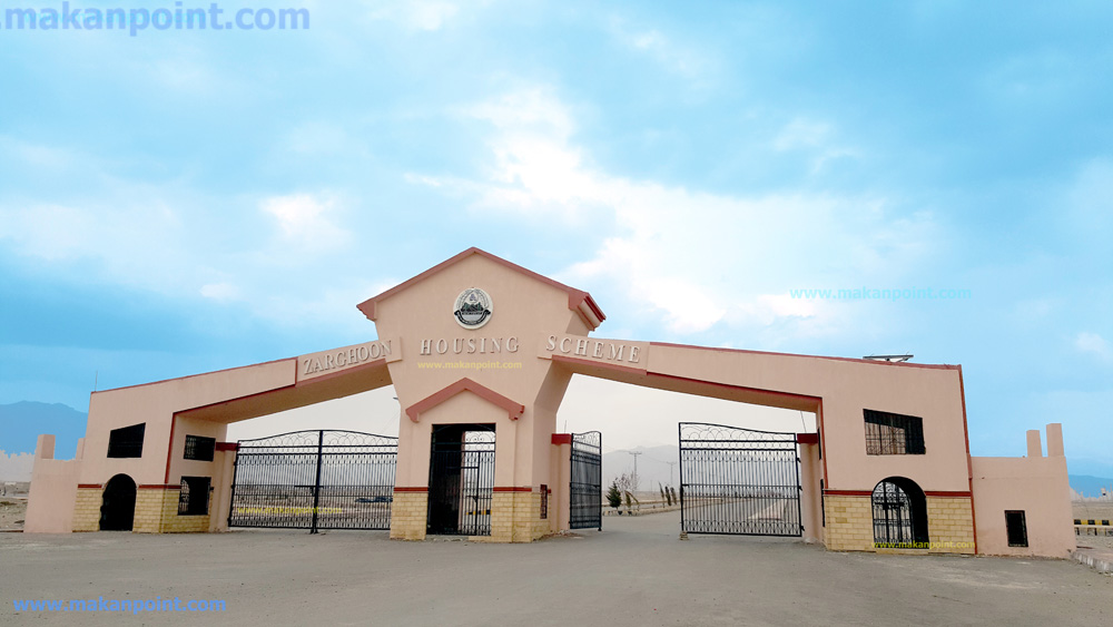 200 square yards plot for sale in zarghoon housing