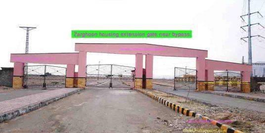 Zarghoon extension bypass gate development