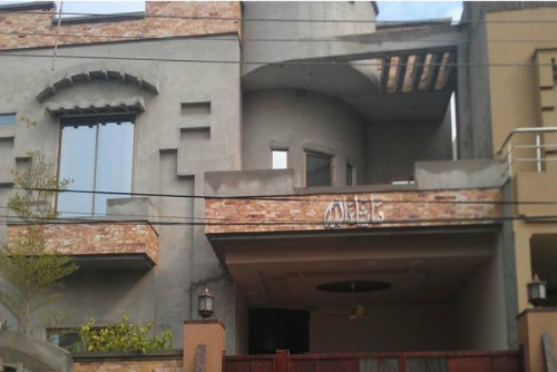 House for rent at jinnah town.