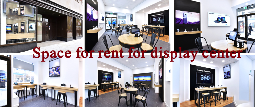 Display Center for rent near prince road and abdul sattar road