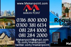 Makanpoint real estate Quetta office contact details.