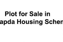 plot for sale in wapda society nawa killi bypass