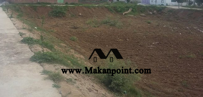 Plot for sale at airport road