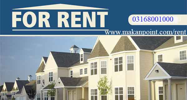Rent houses, flates and portions